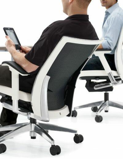 White Chair - Wells & Kimich